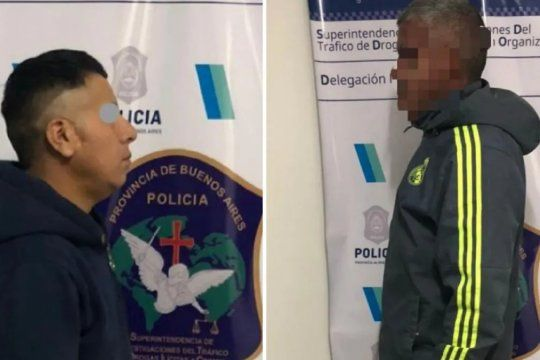 En el procedimiento antidrogas hubo dos detenciones