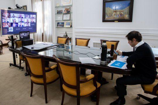 tras el anuncio, kicillof hablo con autoridades de la uia para llevar calma al sector