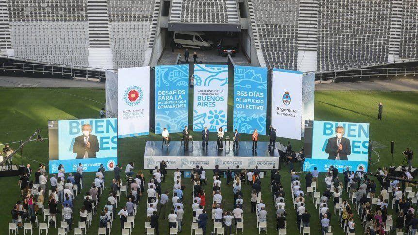 El Frente de Todos cerrará su campaña en el Estadio Único