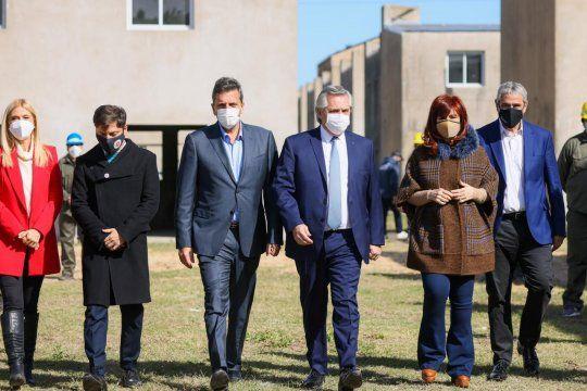 La unidad del Frente de Todos, con Alberto Fernández al centro