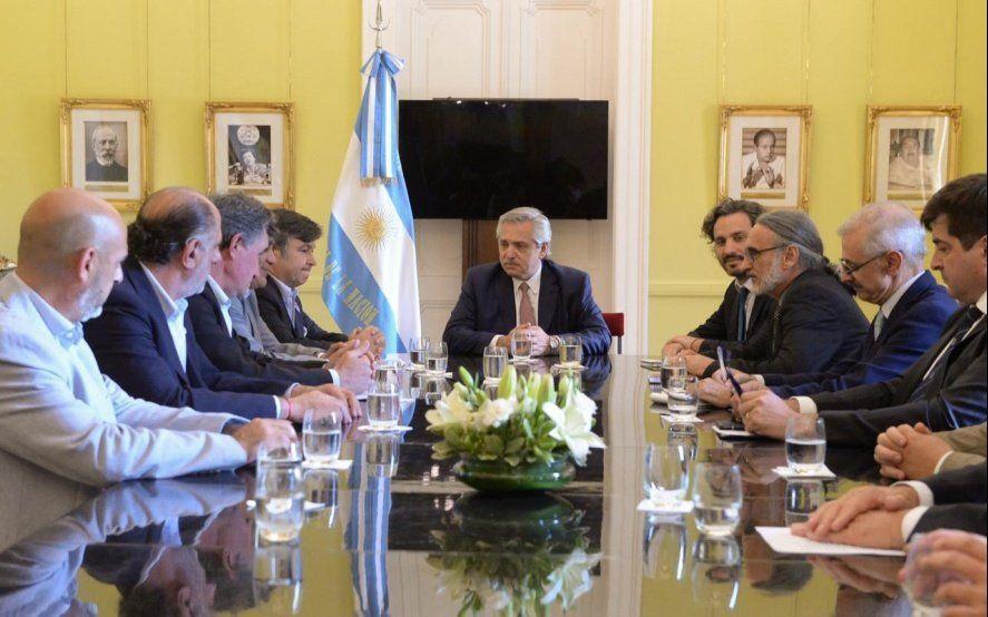 Fernández recibió a la Mesa de Enlace y el Gobierno anunció que estudiará un esquema segmentadode retenciones