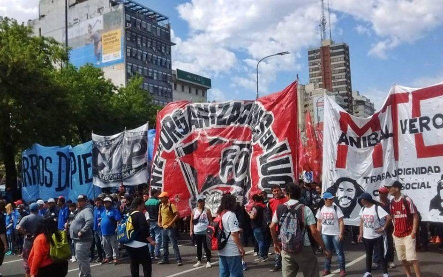 Crisis económica: organizaciones sociales movilizarán contra Macri en el inicio de sesiones legislativas
