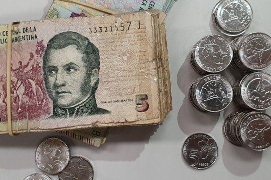 Los billetes de 5 pesos podrán canjearse o depositarse hasta el 30 de diciembre (Foto: BCRA)