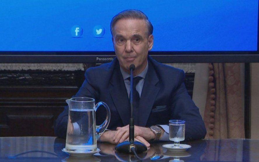 """Pichetto desafía al PJ: """"Voy a seguir en el Consejo de la Magistratura, si quieren que vayan a la Justicia"""""""