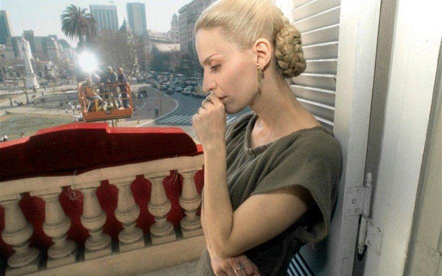 """Esther Goris y su Evita eterna: """"No pasa un día sin que una persona me haga referencia a la película"""""""