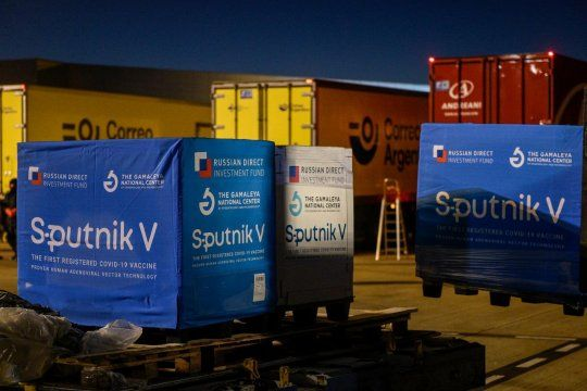 Comienza la distribución en todo el país de otras 489.600 Sputnik V