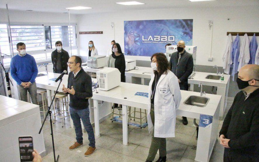 Inauguran en Bolívar un importante laboratorio de Biología Molecular para agilizar el análisis de COVID-19
