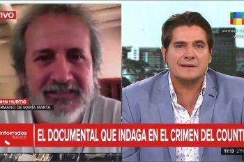 El hermano de Maria Marta Garcia Belsunce se mostró decepcionado por el documental