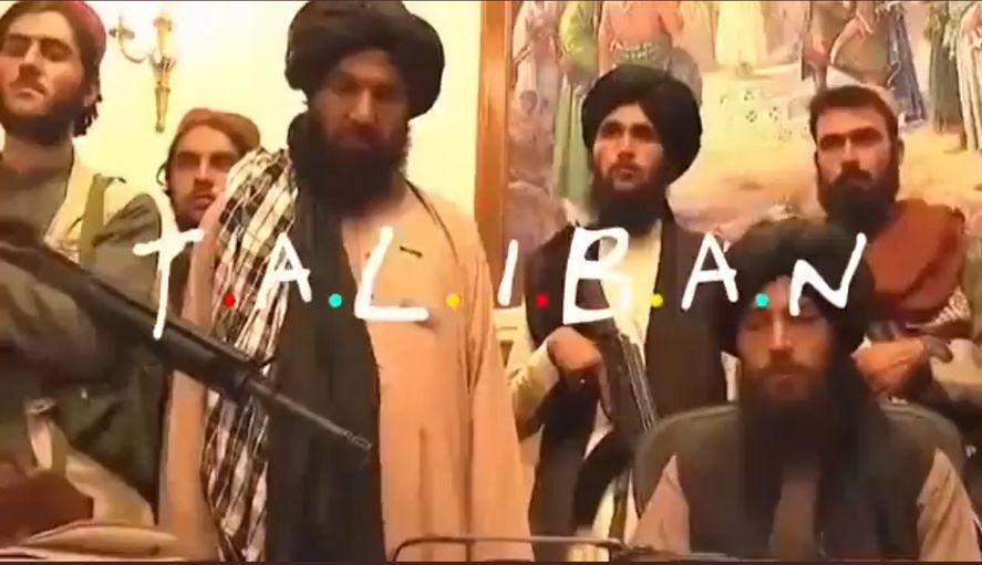 La polémica versión de Friends talibán que ofende y causa gracia