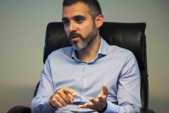 El director de ARBA, Cristian Girard,