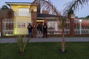 El allanamiento fue en la calle Carlos Gardel al 3680 en Berisso