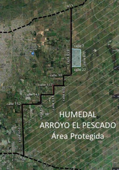 El proyecto presentado en La Plata busca proteger al arroyo El Pescado