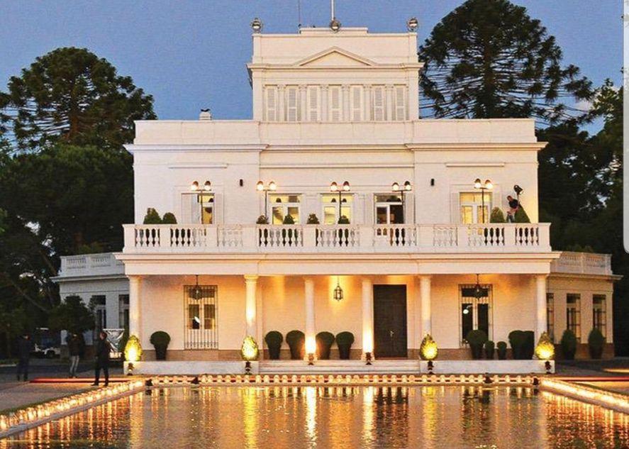 La Residencia Presidencial de Olivos. Hoy se conocieron muchos ingresos en la época de Mauricio Macri