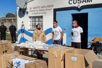 Presos de la Unidad 48 San Martín participaron de una campaña solidaria por el Covid