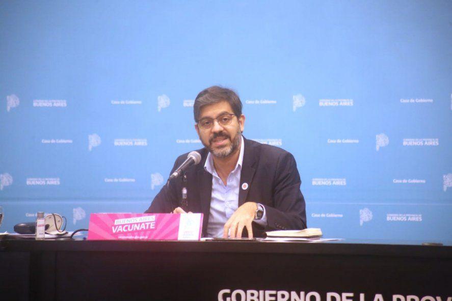 El jefe de Gabinete, Carlos Bianco, presentó las medidas que regirán en la Provincia a partir del próximo lunes.