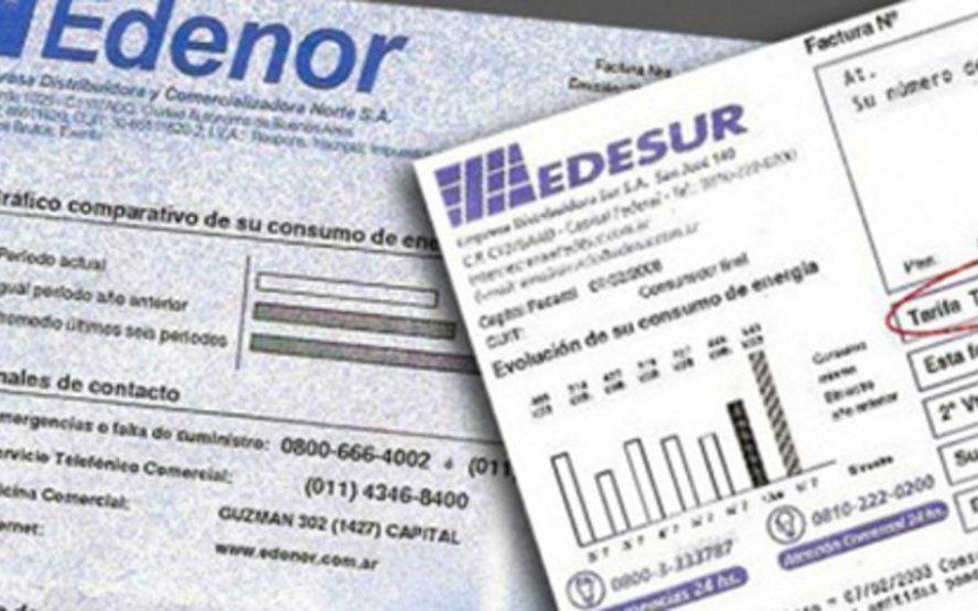 Oficializaron el congelamiento de las tarifas de Edenor y Edesur para residenciales