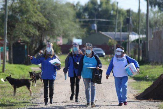 el gobierno implemento el relevamiento casa por casa en el conurbano bonaerense para evitar contagios