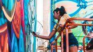 ¿quien es fio silva? la muralista bonaerense que le pone color a las ciudades del mundo