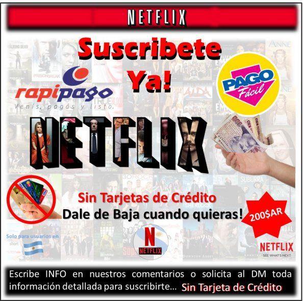 Podés abonar Netflix en Rapi pago o Pago Fácil