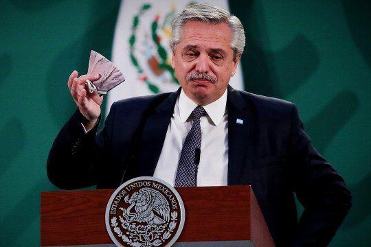 Fuerte respaldo a Alberto Fernández por la renuncia a Ginés / El presidente cerró su gira por México