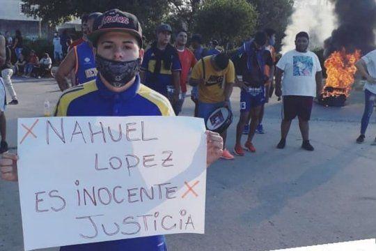 El lunes hubo una marcha para reclamar justicia
