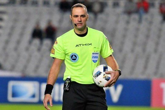 Diego Abal será el árbitro entre Gimnasia y Unión.