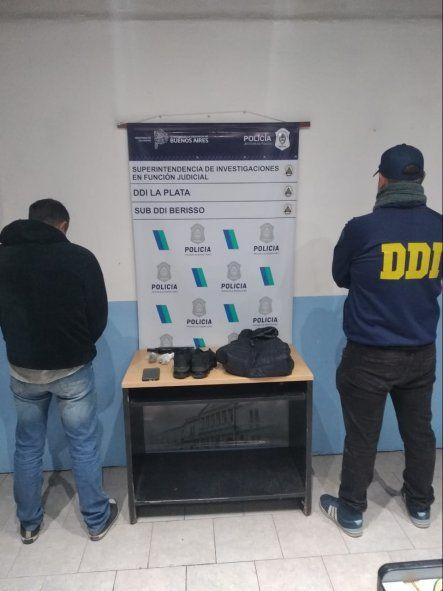 El joven de 20 años detenido en Berisso acusado por dos robos en comercios