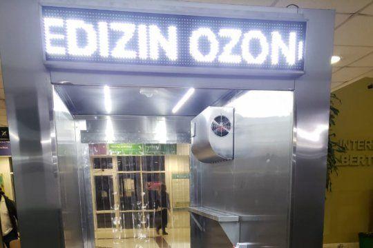 un hospital bonaerense innova con un metodo de desinfeccion empleando ozono