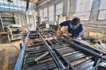 La producción de las pymes manufactureras creció tras nueve meses de caída