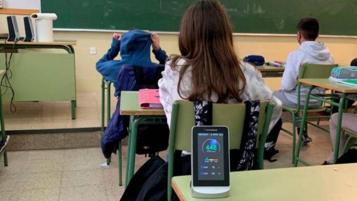 Las escuelas públicas incorporaron los aparatos