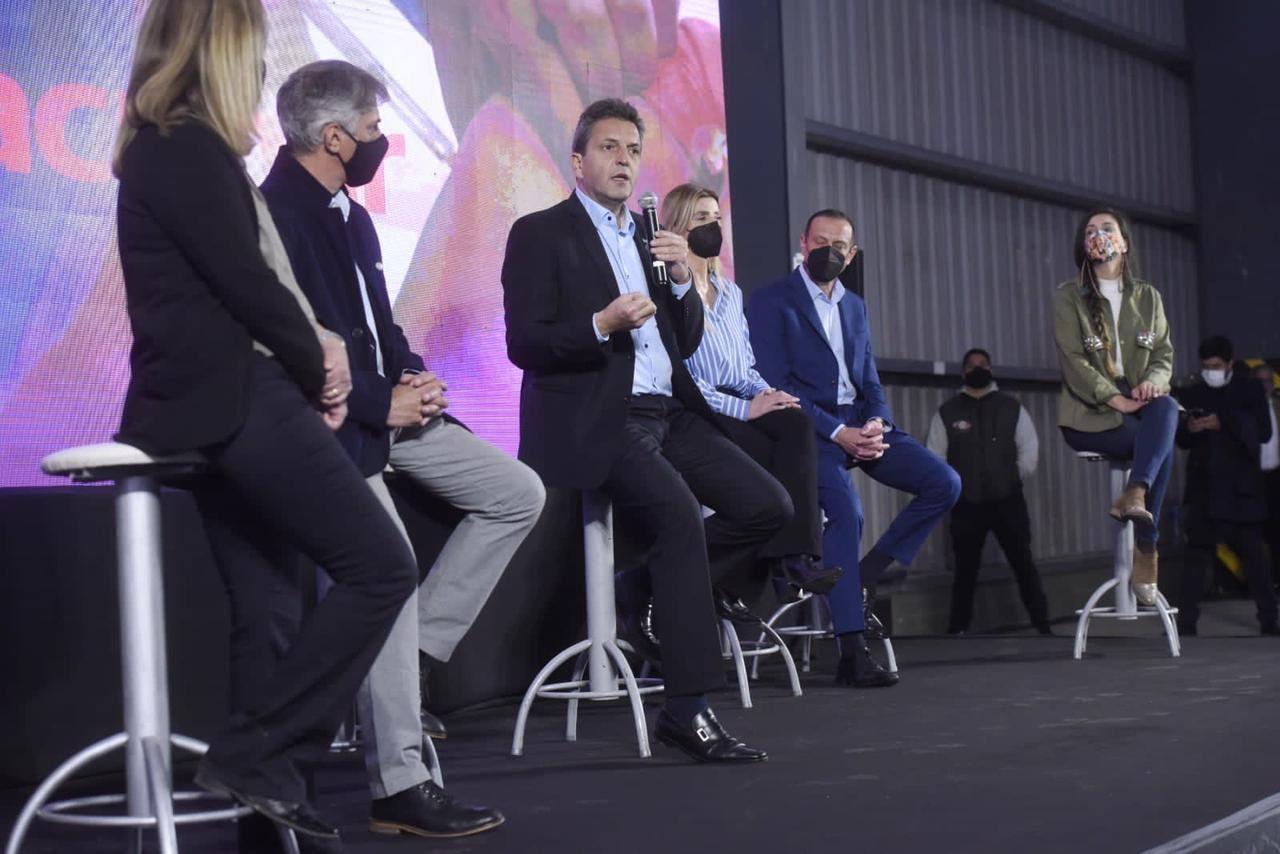 Sergio Massa: Vamos a recuperar el mercado interno