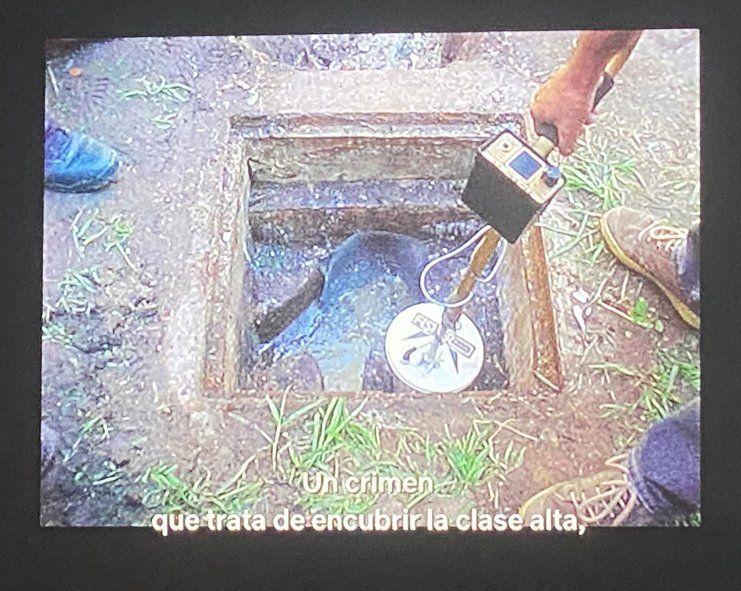 El pozo ciego de la casa de Carrascosa y Maria Martha en donde apareció el pituto