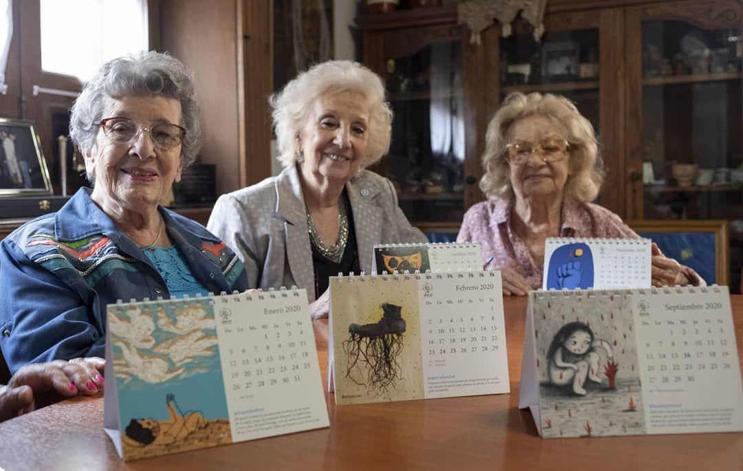 abuelas de plaza de mayo lanza una campana por el dia de la abuela