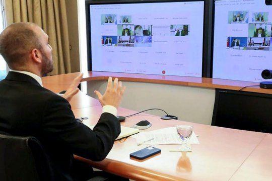 Guzmán pidió que el FMI reasigne fondos