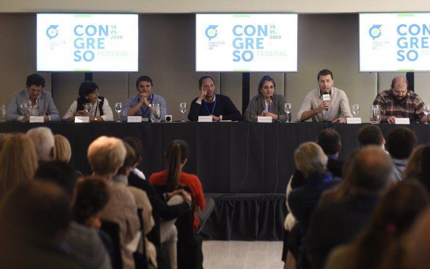 Luego de la Convención radical, la Coalición Cívica también reafirmó su apoyo a Cambiemos