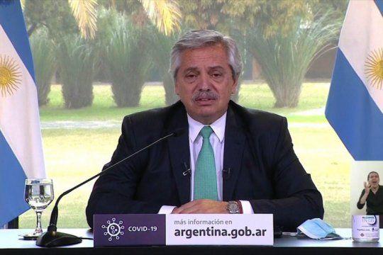 alberto fernandez ratifico la continuidad del ife y el atp