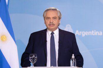 Alberto Fernández encabeza un acto oficial