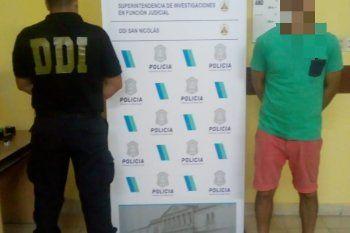 El hombre detenido en San Nicolás por un robo del 2019