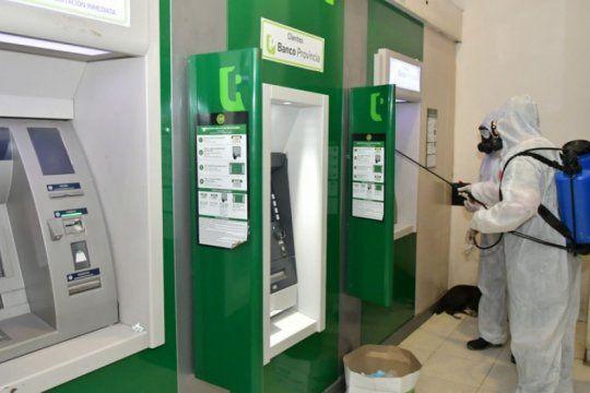 Cajeros automáticos en pandemia