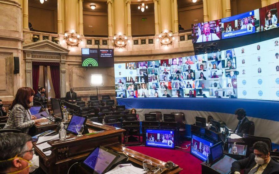 El Senado convirtió en ley la ampliación de la moratoria