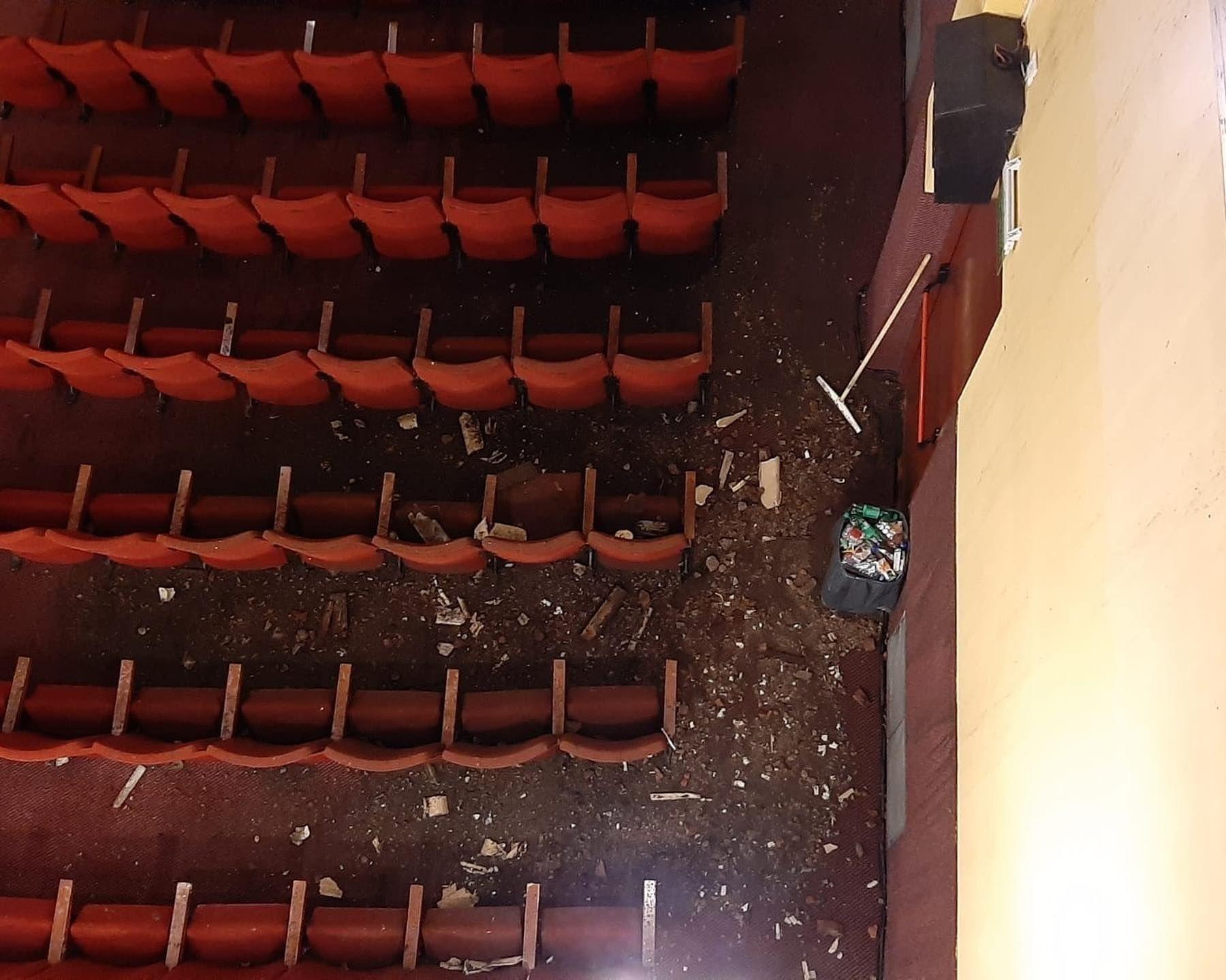 El cine tuvo que suspender sus funciones a 2 días de su reapertura (Foto: Facebook Cine Teatro Español)