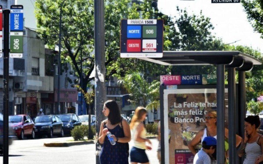 La Plata: Desde el lunes regirá un nuevo recorrido de micros en el centro de la ciudad