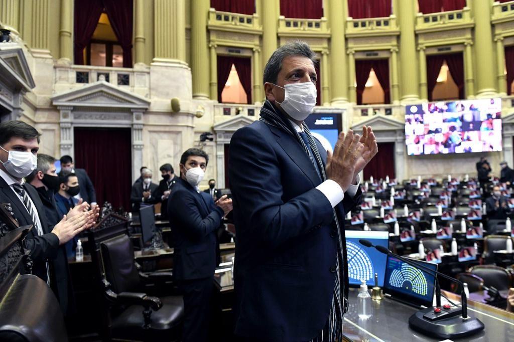 sergio massa recibe al congreso latinoamericano contra el terrorismo