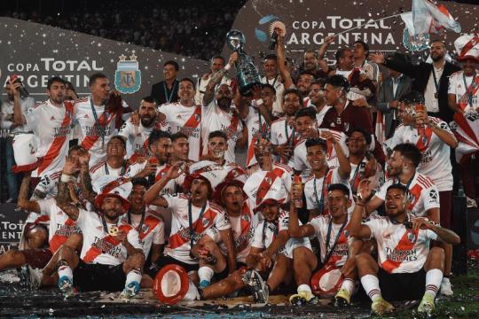 river volvio a festejar: le gano a central cordoba y es campeon de la copa argentina