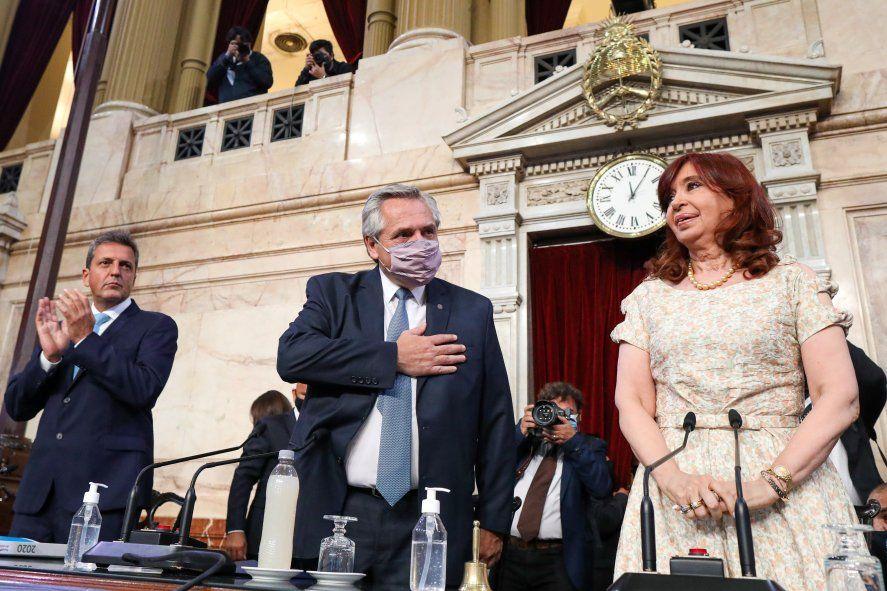 ALberto Fernández abrió sesiones ordinarias del Congreso con anuncios y análisis