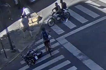 El accidente vial fue el sábado en 7 y 49 de La Plata entre un auto y una moto