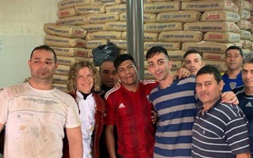 Maru Botana visitó un penal, pidió segundas oportunidades y la criticaron en las redes