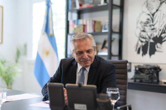 Alberto Fernández habló con Putin y el presidente ruso lo invitó a su país
