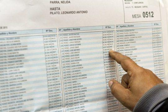 ¿sabes donde votas? consulta aqui el padron electoral para este domingo