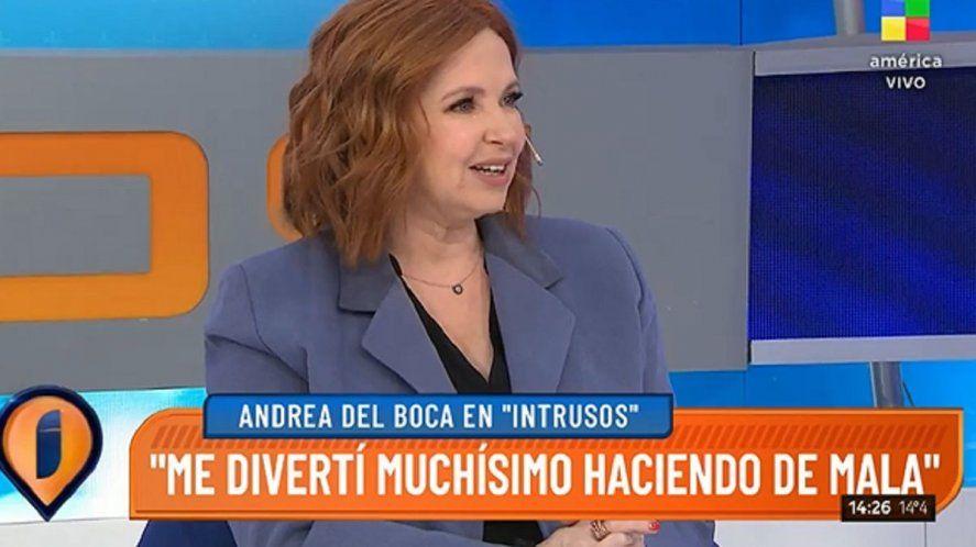 Andrea del Boca habló sobre la remake de Perla Negra